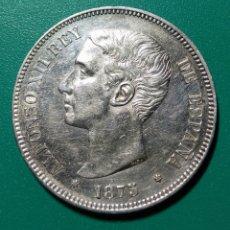 Monedas de España: 5 PESETAS PLATA 1875. ALFONSO XII.. Lote 145927618