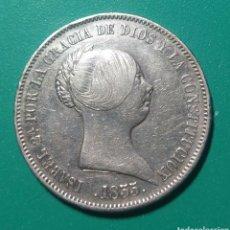 Monedas de España: 20 REALES PLATA 1855. ISABEL II.. Lote 146039610