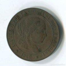 Monedas de España: ISABEL II. 2 1/2 CÉNTIMOS DE ESCUDO, 1868. BARCELONA. Lote 146079030