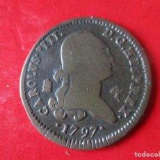 Monedas de España: CARLOS IV. 4 MARAVEDIES. SEGOVIA 1797. Lote 146222646