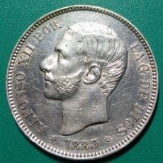 Monedas de España: 5 PESETAS PLATA 1883. *83 MSM. ALFONSO XII.. Lote 146287112