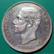 Monedas de España: 5 PESETAS PLATA 1885 *85. MSM. ALFONSO XII.. Lote 146305404