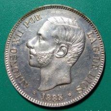 Monedas de España: 5 PESETAS PLATA 1885 *87. MSM. ALFONSO XII.. Lote 146311097