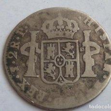 Monedas de España: MONEDA DE PLATA DE 2 REALES DE CARLOS III DE 1780 CECA DE POTOSI, ENSAYADORES P R, MUY ESCASA. Lote 146407174