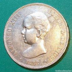 Monedas de España: 5 PESETAS PLATA 1888. MPM. ALFONSO XIII.. Lote 146457138