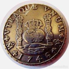 Monedas de España: FELIPE V - 8 EXTRAORDINARIOS REALES DE 1746 - ¡MUY ESCASOS! - PLATA . Lote 146471810