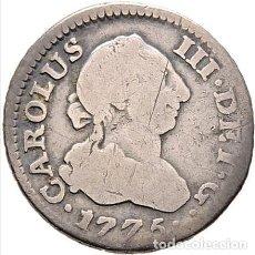 Monedas de España: CARLOS III. MADRID. 1/2 REAL. 1775. PJ. CY11132. BC/BC+. Lote 146691458
