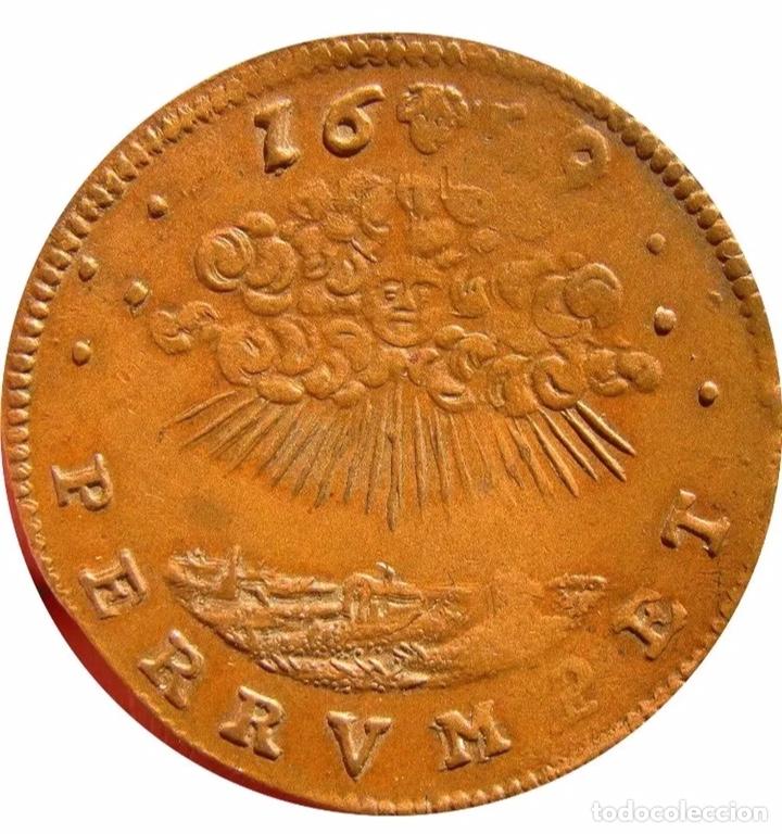 Monedas de España: España Spain 1659 , Spain Netheralands, Brabant, Felipe IV. Rarísima Moneda - Foto 2 - 146700314