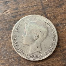 Monedas de España: MONEDA PLATA 1 PESETA ALFONSO XIII. Lote 146995172