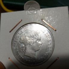 Monedas de España: ESPECTACULAR MONEDA 1 ESCUDO ISABEL II PLATA 1867 CASI SIN CIRCULAR. Lote 147014950