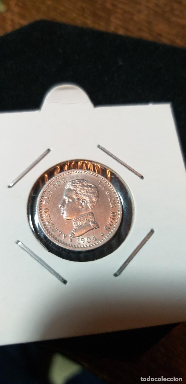 50 CENTIMOS PLATA ALFONSO XIII 1904*04 S/C (Numismática - España Modernas y Contemporáneas - De Isabel II (1.834) a Alfonso XIII (1.931))