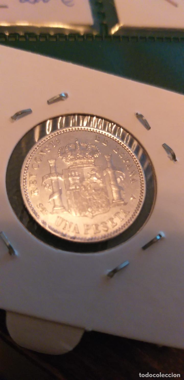 Monedas de España: 1 PESETA 1905*04 PRECIOSA BRILLO - Foto 4 - 147199782