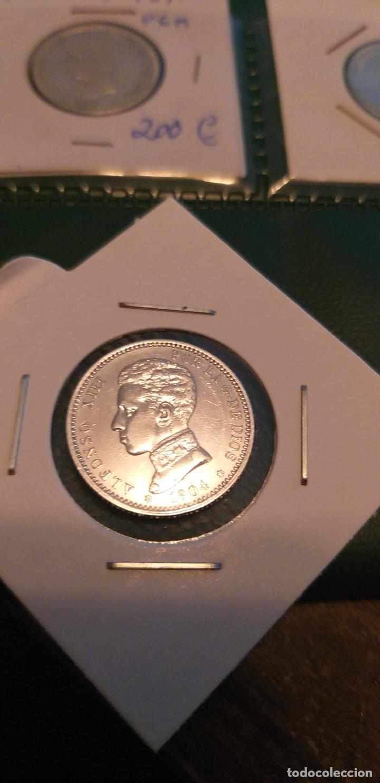 Monedas de España: 1 PESETA 1905*04 PRECIOSA BRILLO - Foto 5 - 147199782