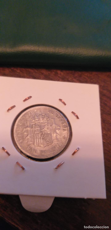 Monedas de España: 1 PESETA 1885*83 ALFONSO XII PLATA - Foto 3 - 147204874