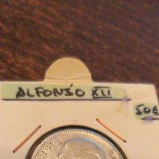 Monedas de España: 1 PESETA 1876*76 ALFONSO XII PLATA LA MÁS RARA DE SU SERIE. Lote 147207078