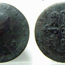 Monedas de España: MONEDA DE ISABEL II 8 MARAVEDIS DE 1840 CECA JUBIA. Lote 147457670