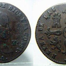 Monedas de España: MONEDA DE ISABEL II 8 MARAVEDIS DE 1844 CECA SEGOVIA. Lote 147459114