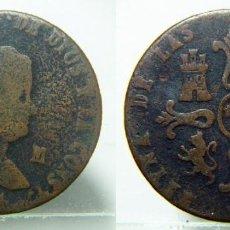 Monedas de España: MONEDA DE ISABEL II 8 MARAVEDIS DE 1844 CECA JUBIA. Lote 147481598