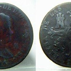 Monedas de España: MONEDA DE ISABEL II 8 MARAVEDIS DE 1846 CECA JUBIA. Lote 147482390