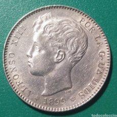 Monedas de España: 1 PESETA PLATA 1899 * 99 SGV. ALFONSO XIII.. Lote 147542904