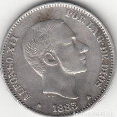 Monedas de España: ALFONSO XII: 50 CENTAVOS DE PESO 1883 - MANILA ( PLATA ). Lote 147686854