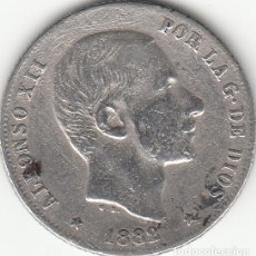 Monedas de España: ALFONSO XII: 20 CENTAVOS 1882 FILIPINAS ( PLATA ). Lote 147702866