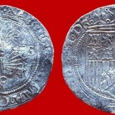 Monedas de España: REYES CATÓLICOS, 1 REAL DE PLATA, SEVILLA. 26 MM / 3,25 GR.. Lote 147703238