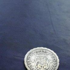 Monedas de España: MEDIO REAL 1759 COLUMNARIO PLATA. Lote 147705482
