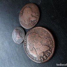 Monedas de España: 8 - 4 Y 2 MARAVEDIS CARLOS III 1774 - 1801 . Lote 147721878