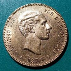 Monedas de España: 25 PESETAS ORO 1876 *76 DEM. ALFONSO XII.. Lote 147754108