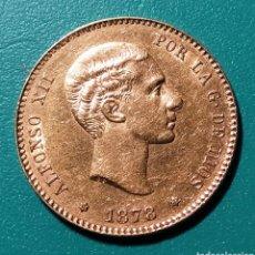 Monedas de España: 25 PESETAS ORO 1878 *78 EMM. ALFONSO XII.. Lote 147764553