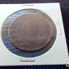 Monedas de España: FERNANDO VII - 8 MARAVEDIS (MODELO: 458) - 1821 - COBRE - 29 MM. Lote 147787906