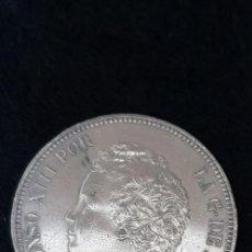 Monedas de España: 5 PESETAS ALFONSO XIII , 1895 (DURO DE PLATA ). Lote 147865346