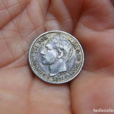 Monedas de España: ALFONSO XII 50 CENTIMOS 1881*81 PLATA -BONITA-. Lote 147920182
