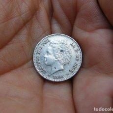 Monedas de España: ALFONSO XIII 50 CENTIMOS 1894*94 PLATA . Lote 147922822