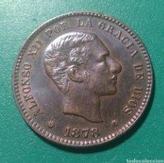 Monedas de España: 5 CÉNTIMOS DE PESETA COBRE 1878 OM. ALFONSO XII.. Lote 147931953