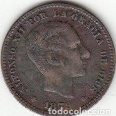 Monedas de España: ALFONSO XII: 5 CENTIMOS 1879. Lote 147972762
