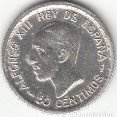 Monedas de España: ALFONSO XII: 50 CENTIMOS 1926 ( PLATA ). Lote 147981718