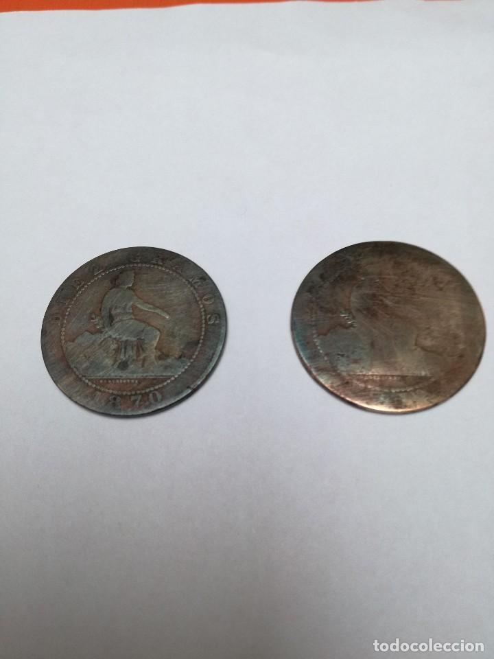 10 CÉNTIMOS GOBIERNO PROVISIONAL 1870 (Numismática - España Modernas y Contemporáneas - De Isabel II (1.834) a Alfonso XIII (1.931))