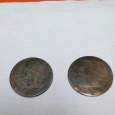 Monedas de España: 10 CÉNTIMOS GOBIERNO PROVISIONAL 1870. Lote 147991138
