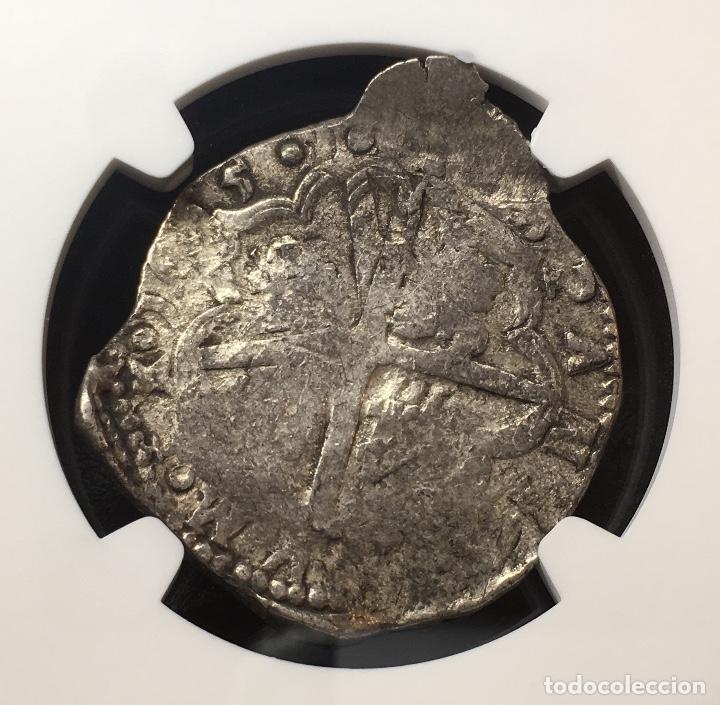 Monedas de España: ¡¡ ESCASA !! MONEDA DE 4 REALES DE FELIPE III. AÑO 1615. CECA SEVILLA. V NGC VF35!!! - Foto 5 - 148247610