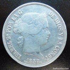 Monedas de España: 20 REALES ISABEL II 1858 MADRID. Lote 148318222