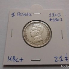 Monedas de España: 1 PESETA 1903 * 1903 ALFONSO XIII. Lote 148370722