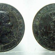 Monedas de España: MONEDA DE ISABEL II 2 1/2 CENTIMOS DE ESCUDO 1868 CECA SEGOVIA. Lote 148384522