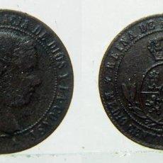 Monedas de España: MONEDA DE ISABEL II MEDIO CENTIMO DE ESCUDO 1866 CECA SEGOVIA. Lote 148385494