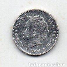 Monedas de España: ALFONSO XIII. 50 CÉNTIMOS. AÑO 1894 *9 *4. PLATA.. Lote 148425146