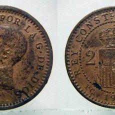 Moedas de Espanha: MONEDA DE ALFONSO XIII 2 CENTIMOS DE 1911 * 12. Lote 148509398