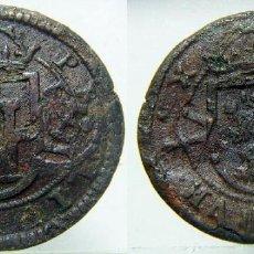 Monedas de España: MONEDA DE FELIPE III 8 MARAVEDIS DE SEGOVIA 1605 RESELLADOS. Lote 148681066