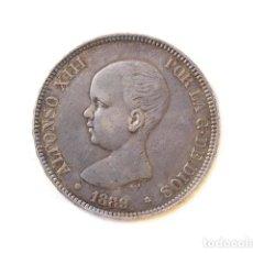 Monedas de España - Moneda 5 Pts, Alfonso XIII, 1889 - 148879094