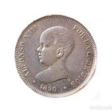 Monedas de España - Moneda 5 Pts, Alfonso XIII, 1890 - 148879098